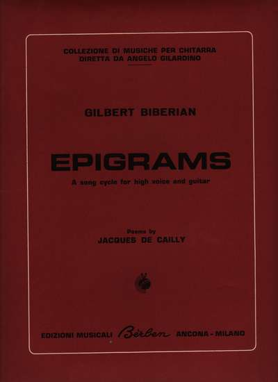 photo of Epigrams
