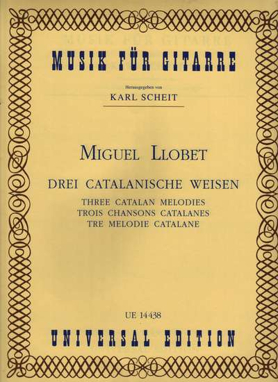 photo of Three Catalan Melodies