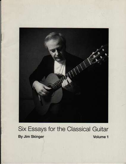 photo of Six Essays for the Classical Guitar, Vol. 1