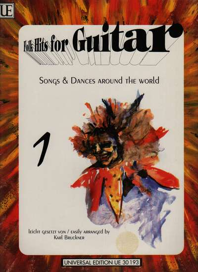 photo of Folk Hits for Guitar, Songs and Dances, Vol. 1