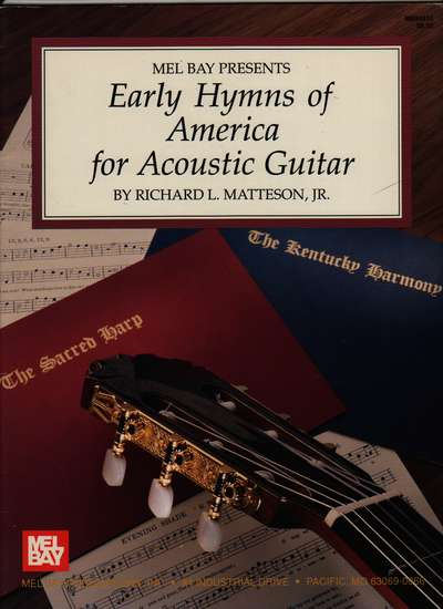 photo of Early Hymns of America for Acoustic Guitar