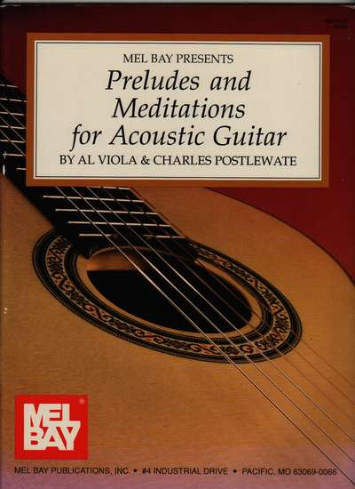 photo of Preludes and Meditations for Acoustic Guitar