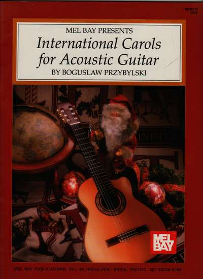 photo of International Carols for Acoustic Guitar