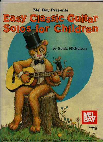 photo of Easy Classic Guitar Solos for Children
