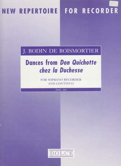 photo of Dances from Don Quichotte chez la Duchesse