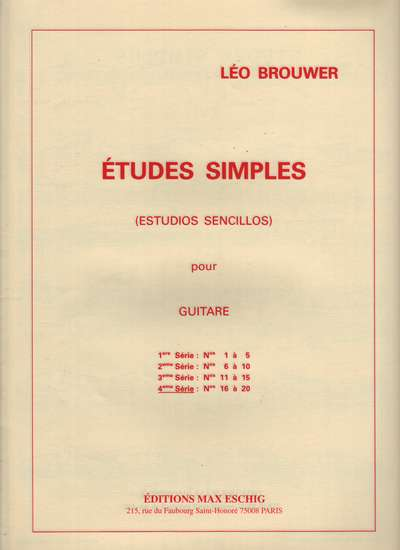 photo of Etudes Simples 16-20