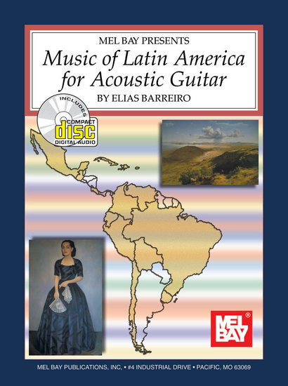 photo of Music of Latin America for Acoustic Guitar
