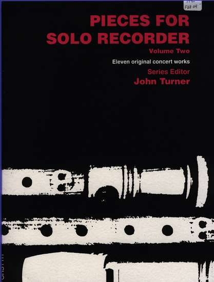 photo of Pieces for Solo Recorder, Vol. 2