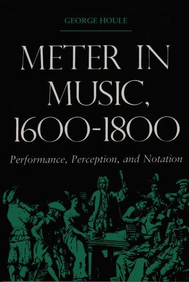 photo of Meter in Music, 1600-1800, (paper cover)