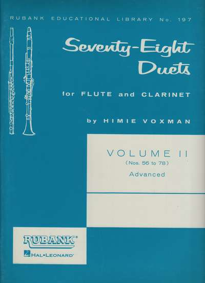 photo of Seventy Eight Duets, Vol. 2, Advanced