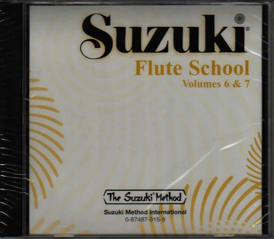 photo of Suzuki Flute School, Vol. 6 & 7, CD