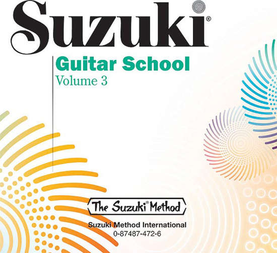 photo of Suzuki Guitar School, Vol. 3, CD