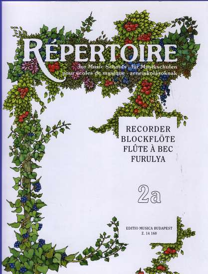 photo of Repertoire for Music Schools, 2a