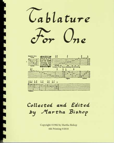 photo of Tablature for One