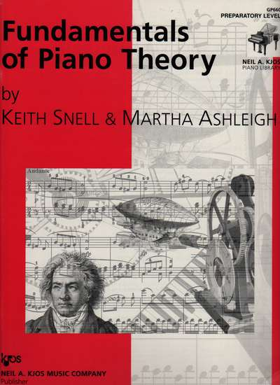 photo of Fundamentals of Piano Theory, Preparatory Level