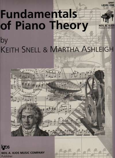 photo of Fundamentals of Piano Theory, Level One