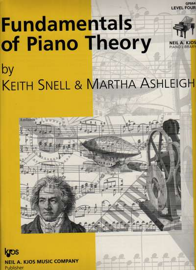 photo of Fundamentals of Piano Theory, Level Four