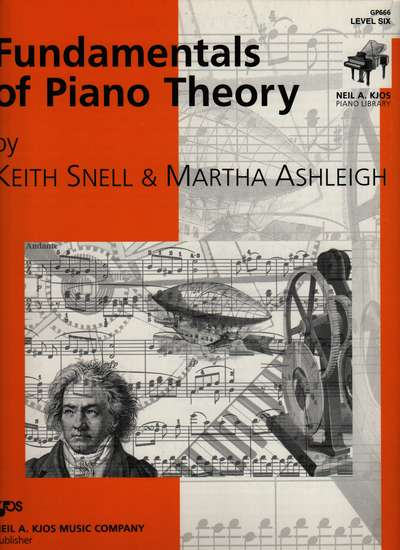 photo of Fundamentals of Piano Theory, Level Six