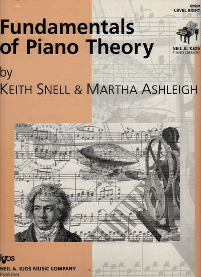 photo of Fundamentals of Piano Theory, Level Eight