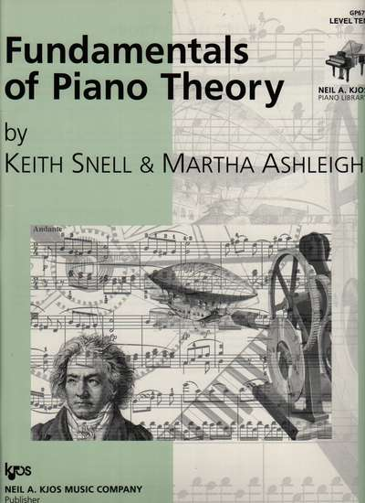 photo of Fundamentals of Piano Theory, Level Ten
