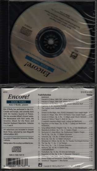 photo of Encore!, Book 3, CD, O